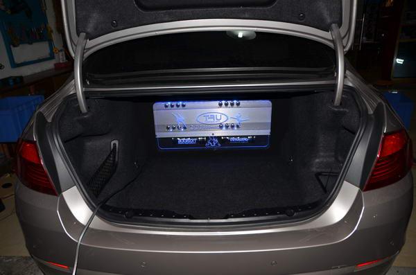 尊享个性音乐 宝马523改装丹拿342三分频套装