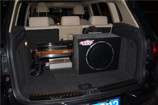 汽车音响改装店 改装案例 大众 途观追求高品质,欧迪臣功放 丹拿喇叭