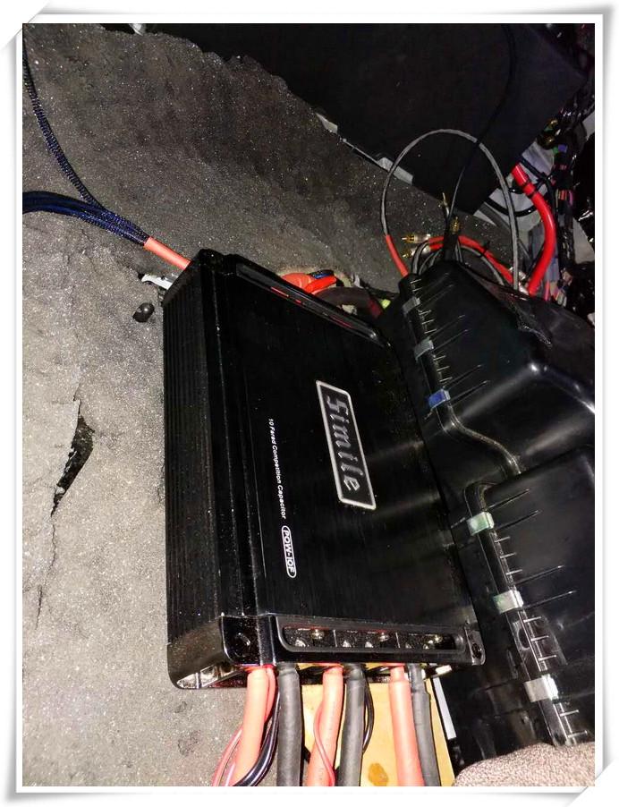 诗蔓pow-10f电容喇叭接线细节