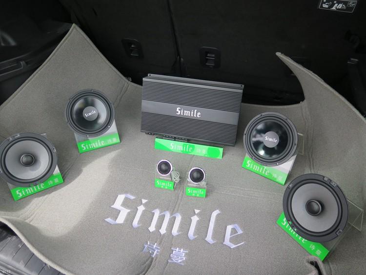 东莞车乐汇汽车音响:哈弗H6汽车音响改装诗蔓喇叭功放和低音