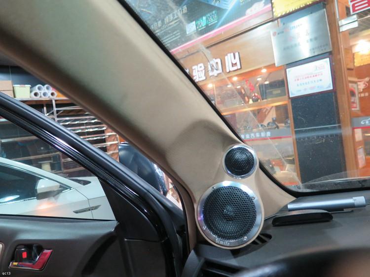东莞车乐汇汽车影音:丰田汉兰达改装诗蔓发烧汽车音响系统