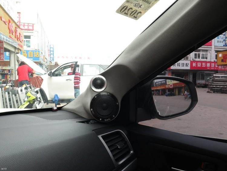 东莞车乐汇汽车影音:丰田霸道改装诗蔓高性价比汽车音响系统