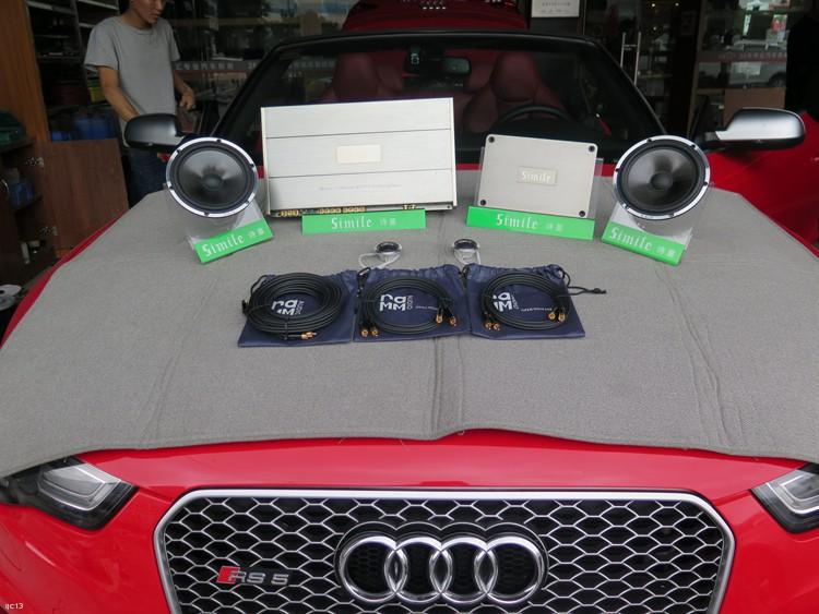 东莞车乐汇汽车影音:奥迪RS5改装诗蔓汽车音响系统