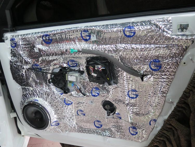 东莞车乐汇汽车影音:奥迪A4改装诗蔓汽车音响,音质清晰醇厚