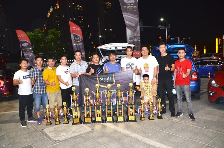 艾斯卡(IASCA )惠州站,诗蔓音响战队热情高涨,战绩六冠四亚二季