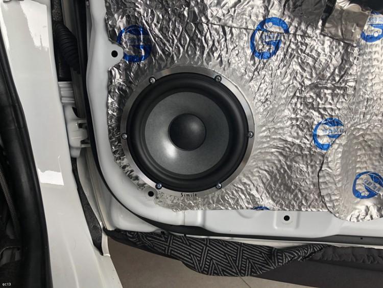 中低音对位安装