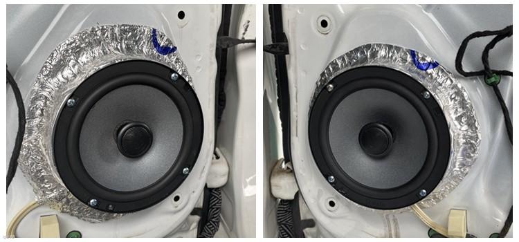 福特蒙迪欧改装诗蔓汽车音响系统,东莞车乐汇汽车音响